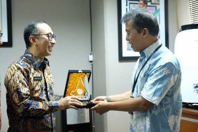 Sekretaris Daerah Kabupaten Gowa, Muchlis presentasikan Beautiful Malino III di Gedung Sapta Pesona, Kantor Kementrian Pariwisata RI, Jakarta, Selasa (2/7/2019).