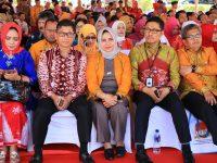 TP PKK Kota Makassar Raih Penghargaan MKK PKK di Harganas 2019.