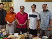 Jamaluddin M Syamsir (JMS) melakukan silaturahmi ke Pimpinan Daerah Muhammadiyah Bulukumba, H Abd Hamid Rahman, Minggu (7/7/2019).