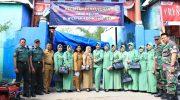 Pelayanan TNI Manunggal-KB Kesehatan di Maccini Sombala