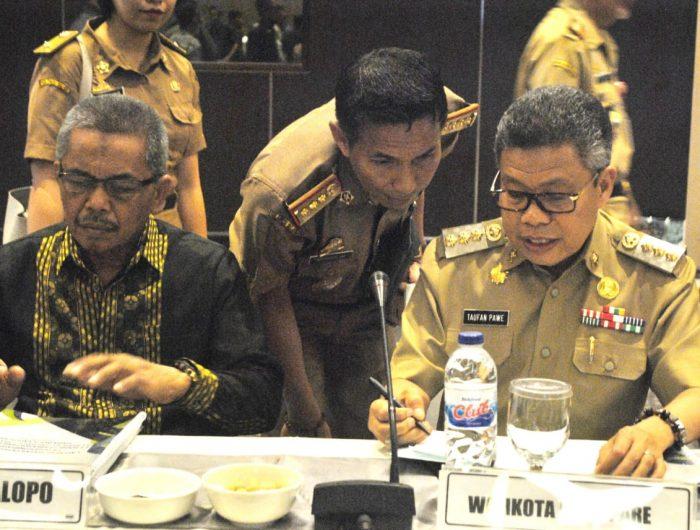 Wali Kota Parepare, HM. Taufan Pawe.