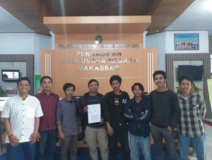 Diskorsing 4 Semester, Mahasiswa UIN Alauddin menggugat ke PTUN
