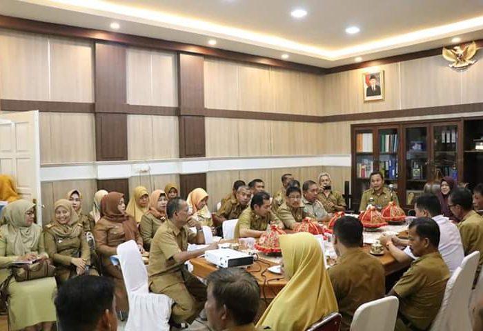 Hasnah Syam Pimpin Rapat Pemantapan Kabupaten Kota Sehat
