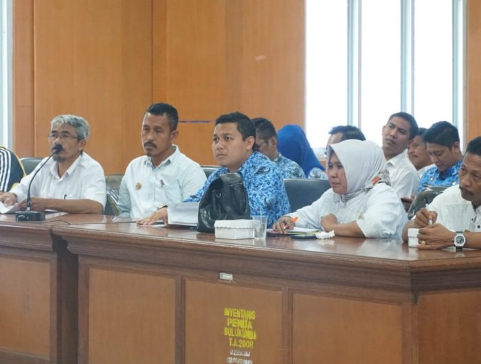 Rapat koordinasi persiapan Liga Desa U-19 Kabupaten Bulukumba.