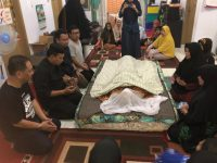 Pj Wali Kota Makassar Melayat ke Rumah Duka Almarhum Hidayat Nahwi Rasul