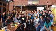 Polres Bulukumba gelar Coffee Morning dengan puluhan Jurnalis di Dafa Cafe, Kota Bulukumba, Selasa (23/7/2019)