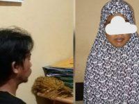 AA dan BI, sepasang saudara kandung yang melahirkan dua orang anak di Kabupaten Luwu, Sulsel. (Ist)