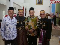 Penjabat (Pj) Wali Kota Makassar M Iqbal Suhaeb turut menghadiri pengukuhan kepengurusan Majelis Keturunan Tomanurung.