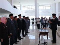 Bupati Barru Lantik 7 Pejabat Tinggi Pratama Pemkab Barru