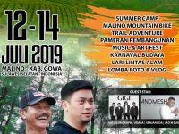Event Beautiful Malino Tahun 2019.