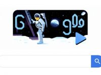 Goggle doodle untuk merayakan 50 Tahun Apollo 11