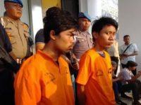 2 pelaku pemerkosaan terhadap anak di bawah umur (Foto: Okezone)