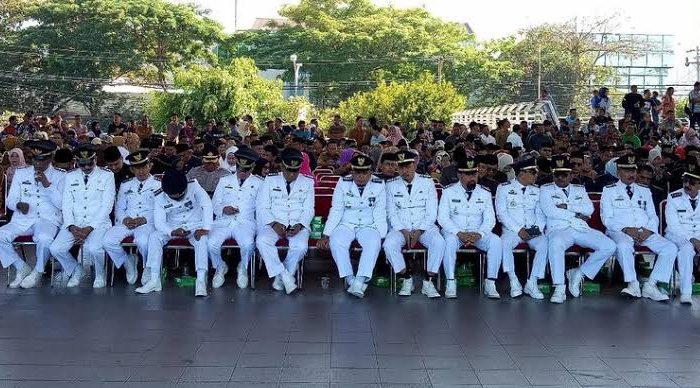 Sebanyak 1.073 ASN Pemkot Makassar, Sulawesi Selatan (Sulsel) dikembalikan ke jabatan semula (Foto: Detik.com)