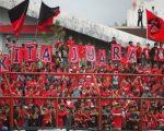 Supporter PSM Makassar.