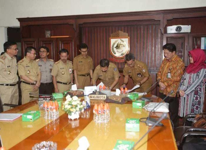 Tim Korsupgah KPK Monitoring Dan Evaluasi OPD Pemerintah Kota Makassar