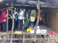 Sawing Daeng Sanggu (70) ditemukan dalam kondisi tak bernyawa, jasadnya mulai membusuk di atas sebuah rumah perkebunan warga, Rabu (3/7/2019).