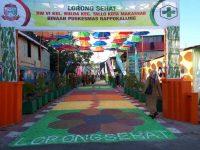 Lorong sehat yang berada Kelurahan Buloa, Kecamatan Tallo, Makassar.