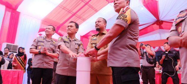 RS Bhayangkara Makassar Launching Layanan Kesehatan Berbasis Teknologi