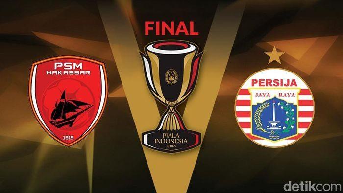 Final Piala Indonesia 2018, PSM Makassar vs Persija Jakarta