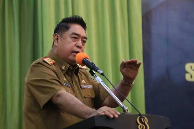 Sekretaris Daerah Provinsi Sulawesi Selatan Abdul Hayat Gani. (Istimewa)