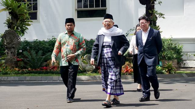 Wakil Presiden terpilih, KH Ma'ruf Amin. (Foto: kumparan)