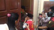 Oknum Dosen UIN Raden Intan menjalani sidang di Pengadilan Negeri