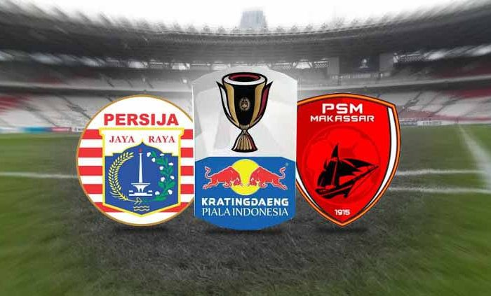 Persija Jakarta Vs PSM Makassar. (Indosport)