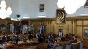Gubernur Provinsi Sulawesi Selatan Prof HM Nurdin Abdullah menerima kunjungan Delegasi Uni Eropa (UE) dan sembilan Kedutaan Besar Negara Anggota UE
