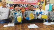Konferensi pers penganiayaan yang berakibat korbannya meninggal dunia di Babakan Ciparay.