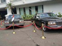 Dua Mobil Sedan Era Presiden Soeharto Dipajang di Istana Merdeka