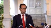 Foto: Presiden Joko Widodo (Jokowi) umumkan lokasi ibu kota baru di kalimantan timur