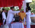 Alvina Damayanti Pembawa Bendera HUT RI di Tingkat Kabupaten Bulukumba