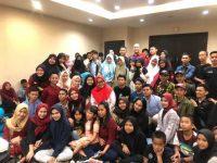 Murni Djamaluddin Iqbal, membuka kegiatan Festival Forum Anak Makassar 2019 di Hotel Santika, Sabtu, (3/8/2019).