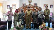 Kementerian KLHK saat audiens dengan Bupati Bulukumba AM Sukri Sappewali di Kantor Bupati Bulukumba