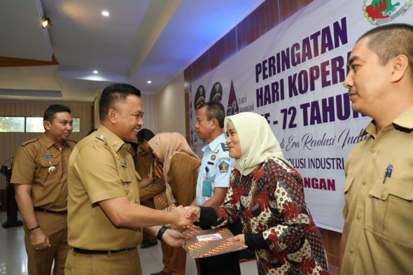 Peringatan Hari Koperasi Nasional tingkat kabupaten yang dilaksanakan