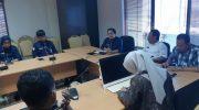 Ombudsman Kota Makassar (OKM) bertandang ke Balaikota, Jumat (16/8/2019).