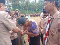 AM Sukri Sappewali Melantik Bupati dan Wakil Bupati Perkemahan