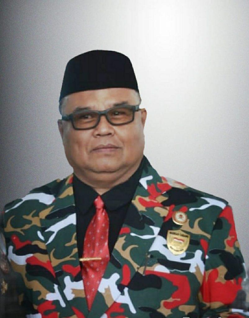 Ketua Laskar Merah Putih (LMP) H. Syamsul Latanro