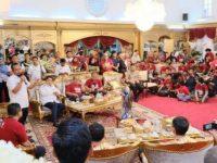 Wakil Gubernur Sulsel Andi Sudirman Sulaiman jamu pemain dan official PSM Makassar