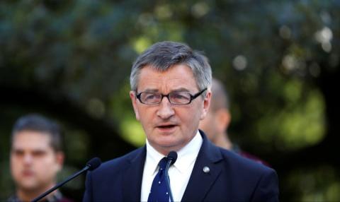 Ketua Parlemen Polandia, Marek Kuchcinski Foto: Reuters/Bernadett Szabo