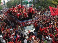 PSM Makassar pesta juara Piala Indonesia (Foto: Antara)