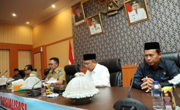 Sosialisasi Undang-undang nomor 33 tahun 2014 tentang jaminan produk halal