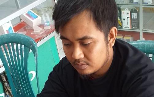 Ketua Himpunan Mahasiswa Islam (HMI) MPO Sulselbar, Samsuryadi