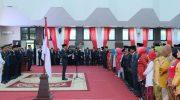 Penyerahan tanda kehormatan Satya Lencana Karya Satya kepada 500 ASN lingkup Pemprov Sulsel.