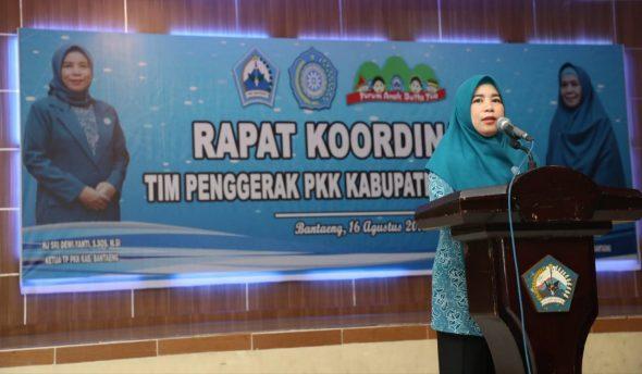 Rapat Koordinasi (Rakor) di Balai Kartini, Jumat, 16 Agsutus 2019.