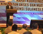 Rapat Koordinasi Peningkatan Akses dan Mutu Pendidikan di Provinsi Sulawesi Selatan