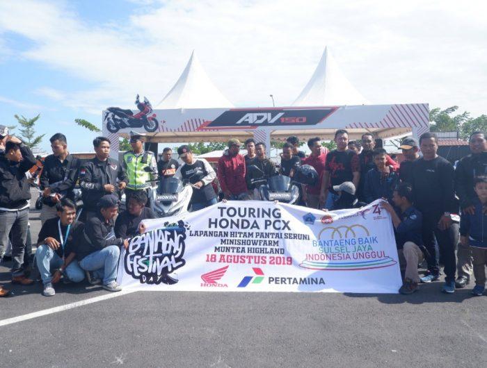 Bupati Bantaeng Touring bersama warga.