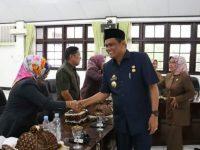 Bupati Barru Ir. H. Suardi Saleh, M.Si menghadiri Rapat Paripurna DPRD barru