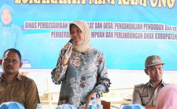 Ketua TP PKK Barru menghadiri Penyuluhan KB di Dusun Daccipong dan Loka Karya Mini Kampung KB di Dusun Panincong