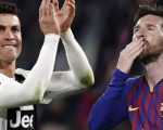 Cristiano Ronaldo dan Lionel Messi. (c) AP